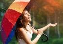 Prognozuojama šilta, tačiau su lietumi, savaitė