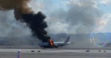 """Užsidegė """"British Airways"""" lėktuvas 1"""