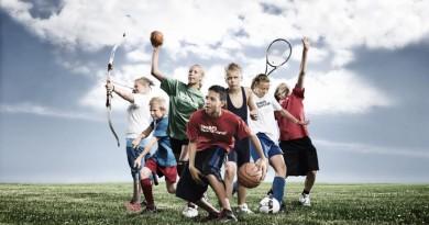 vaikai sportas