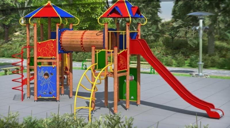 Vaikų žaidimų aikštelės turi būti saugios