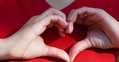 širdis meilė