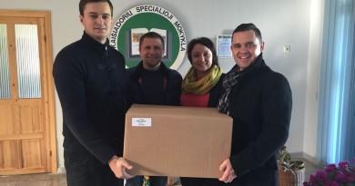 Kaišiadorių miesto centro bendruomenė su partneriu įgyvendino paramos akciją