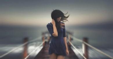 vėjas mergina orai jūra