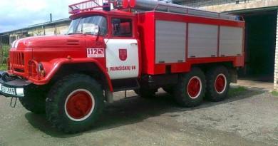 Rumšiškių ugniagesių komanda