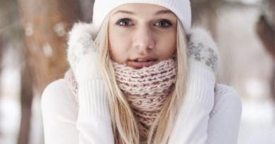 mergina žiema