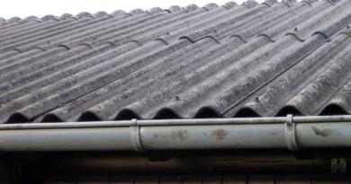 šiferinis asbesto stogas