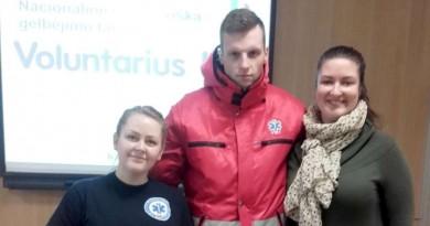 """Kaišiadoryse vyko Nacionalinės savanoriškos gelbėjimo tarnybos """"Voluntarius LT"""" renginiai"""