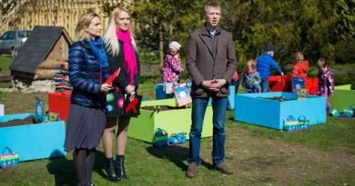 Vilniuje atidarytas atviras daržas