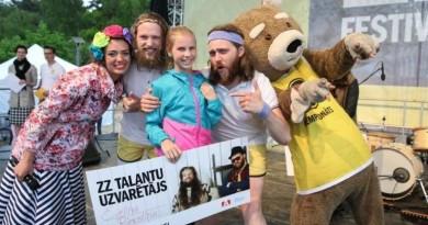 viena is 2015 m  ZZ Talanti laimetoju Evelina Riekstina