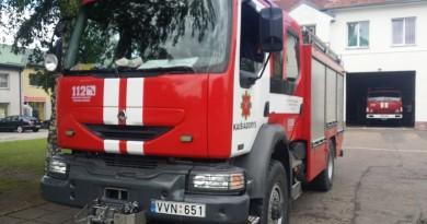 Kaišiadorių priešgaisrinė gelbėjimo tarnyba ugniagesiai