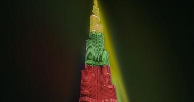 Dubajus Burdž Chalifa aukščiausias pasaulio dangoraižis