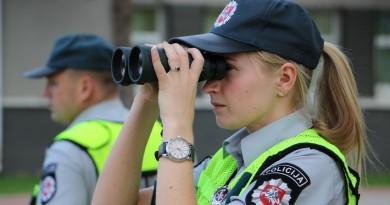 policija policininkė Policijos nuotr.