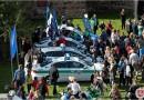 Minios kauniečių susirinko į policijos ir visuomenės šventę