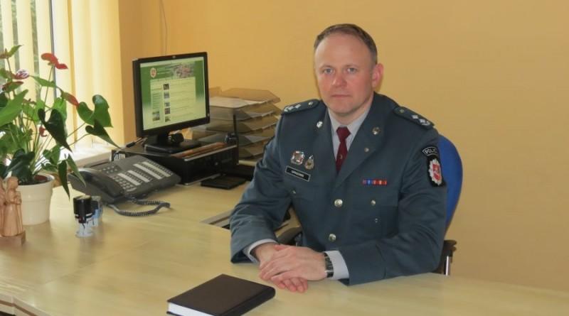Kaišiadorių rajono policijos komisariato viršininko sveikinimas