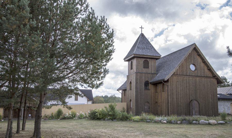 Paparčių Aušrinės Marijos vienuolynas Nuotr. Giedrės Streikauskaitės