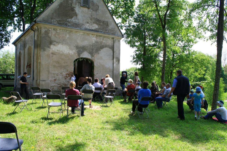 Paparčių Dominikonų vienuolyno koplyčia Nuotr. Giedrės Streikauskaitės