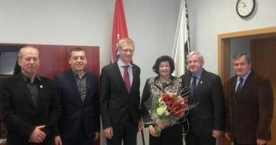 Savivaldybės vadovai susitiko su Lietuvos Respublikos Seimo nare Laimute Matkevičiene