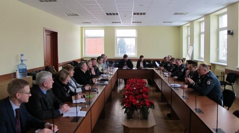 Savivaldybėje pristatytas pakeistas policijos veiklos organizavimo modelis