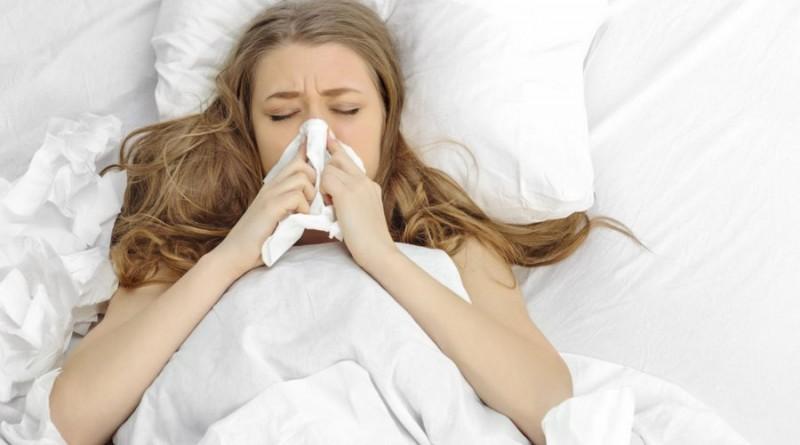 moteris liga gripas
