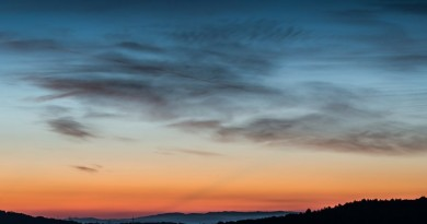 saulėlydis dangus orai