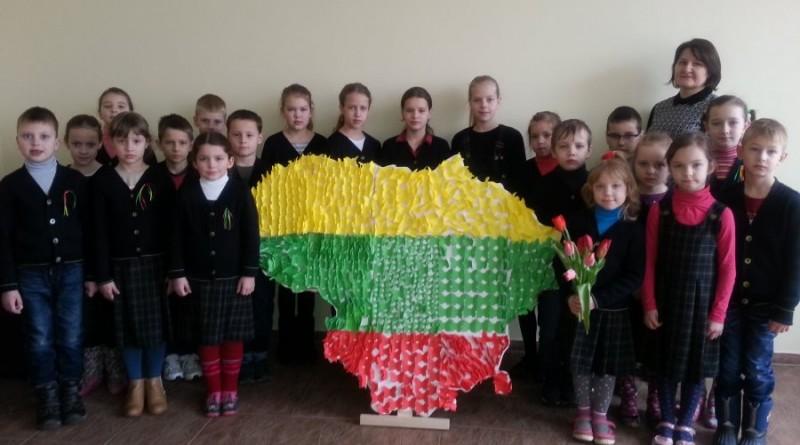 """Vaclovo Giržado progimnazijos pradinių klasių mokinių renginys """"Tėvynė šneka – aš girdžiu"""""""