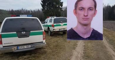 Kauno rajone rasta sušaudyta šeima, policija prašo padėti surasti ginkluotą įtariamąjį