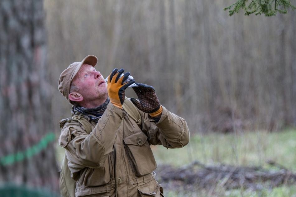 Ornitologas Saulius Rumbutis - Giedres Streikauskaites nuotr.