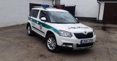 Kaišiadorių r. policijos komisariatas gavo naują automobilį