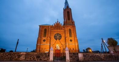 Žiežmarių Šv. Jokūbo bažnyčia - Giedrės Streikauskaites nuotr