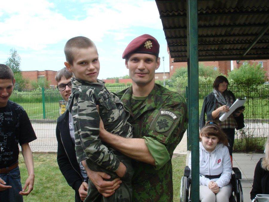 Diena su kariu Vytenis Babeckas