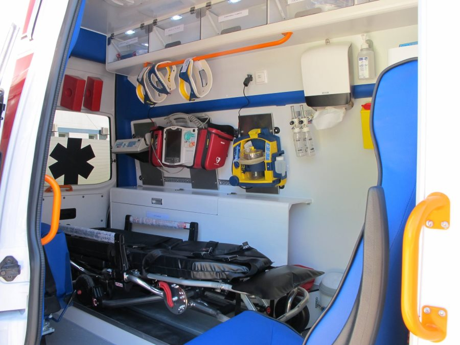 Greitosios medicininės pagfalbos automobilis
