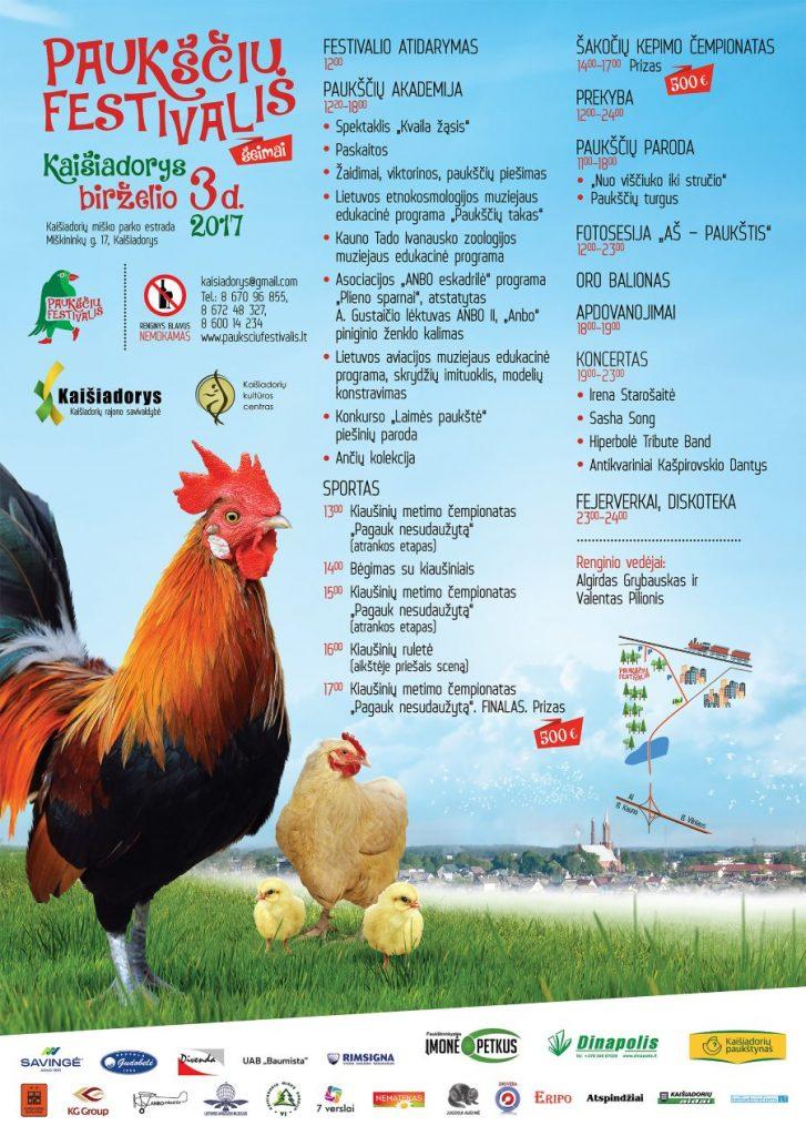 Pauksciu festivalio programa