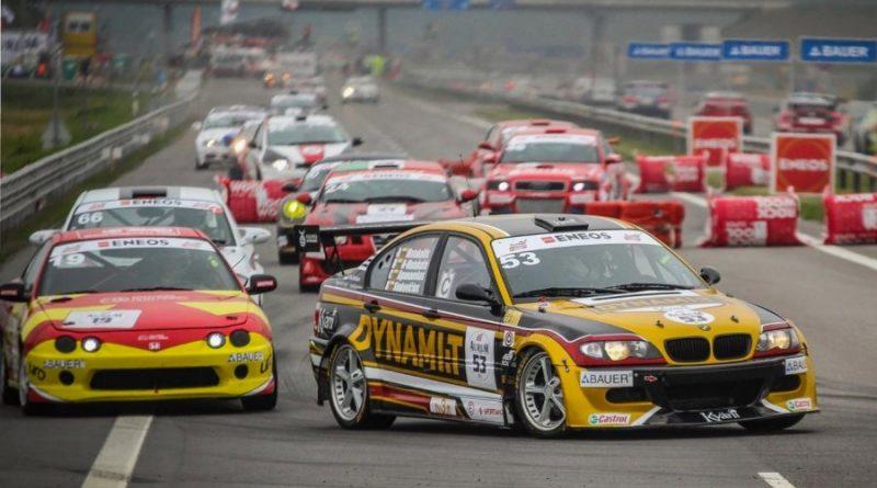 Palangoje, automobilių žiedinių lenktynių metu, keičiama eismo tvarka