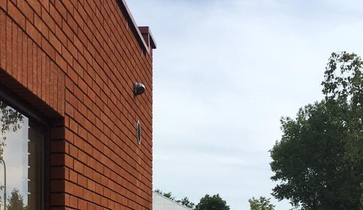 Vandalus užfiksavo vaizdo stebėjimo kameros