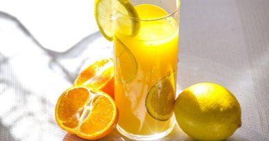 Juicy citrus in deep sun and light