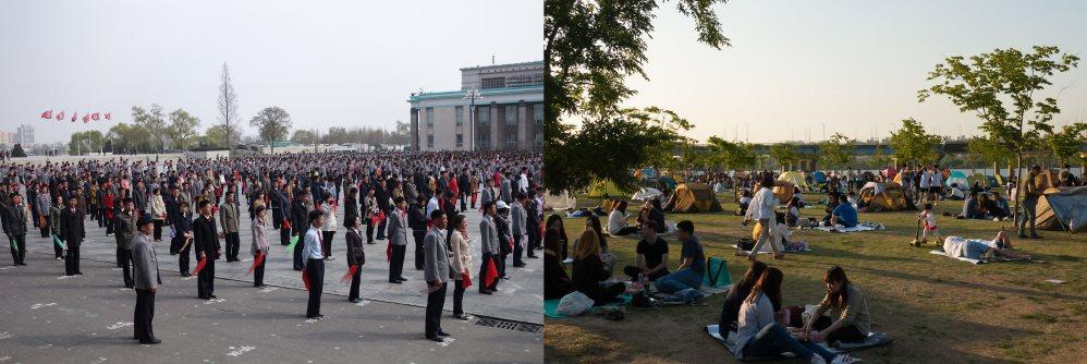 Laisvalaikis Šiaurės ir Pietų Korėjoje