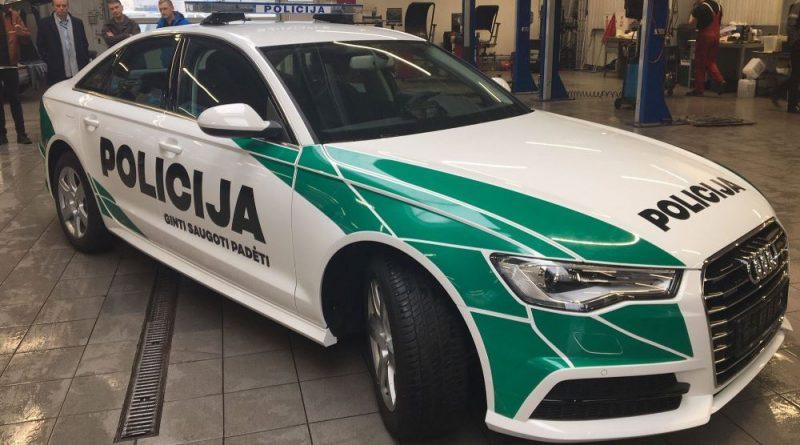 Naujas policijos automobilio dizainas
