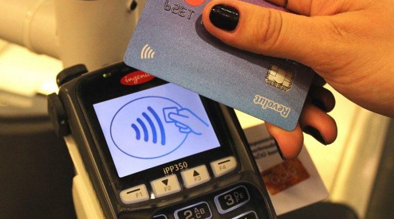 bekontaktė mokėjimo kortelė