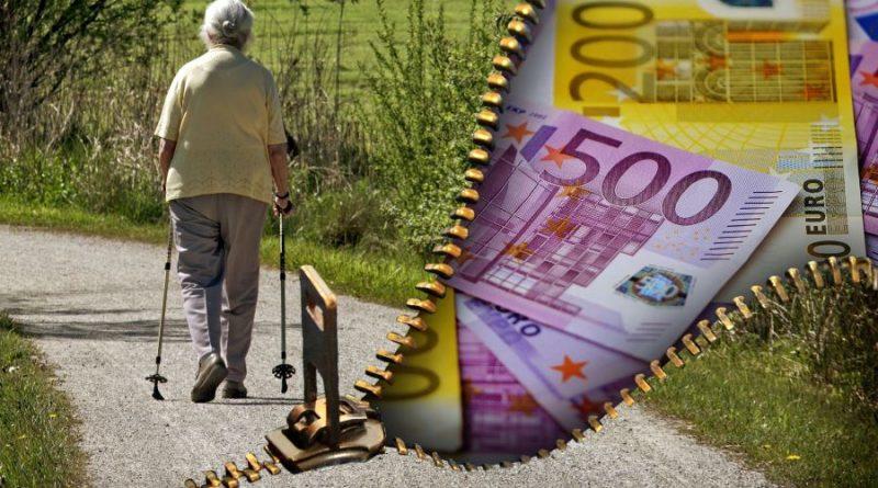 pensija senas žmgus pinigai senatvė