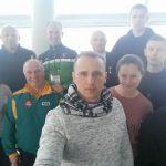 Lietuvos svarsčių kilnojimo komanda keliauja namo