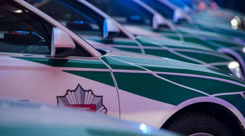 Policija Audi A6 nuotr. Lietuvos policijos (11)