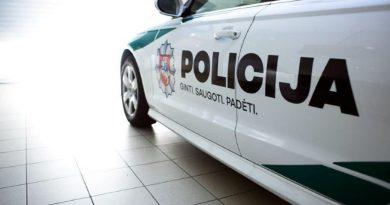 Policija Audi A6 nuotr. Lietuvos policijos (5)