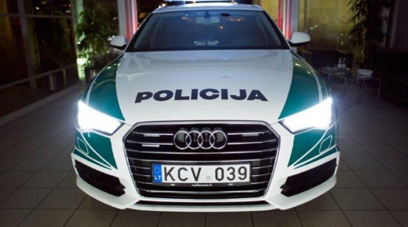 Policija Audi A6 nuotr. Lietuvos policijos (7)
