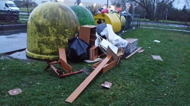 atliekos šiukšlės konteineriai