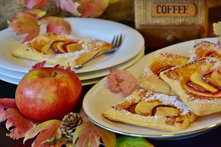 obuolių pyragas