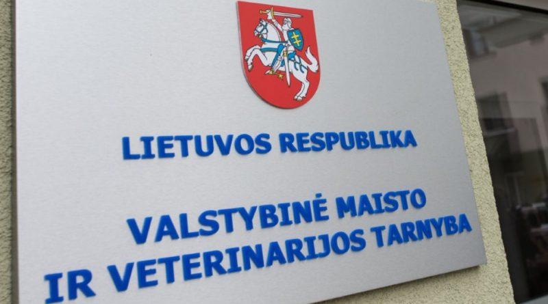 valstybinė maisto ir veterinarijos tarnyba