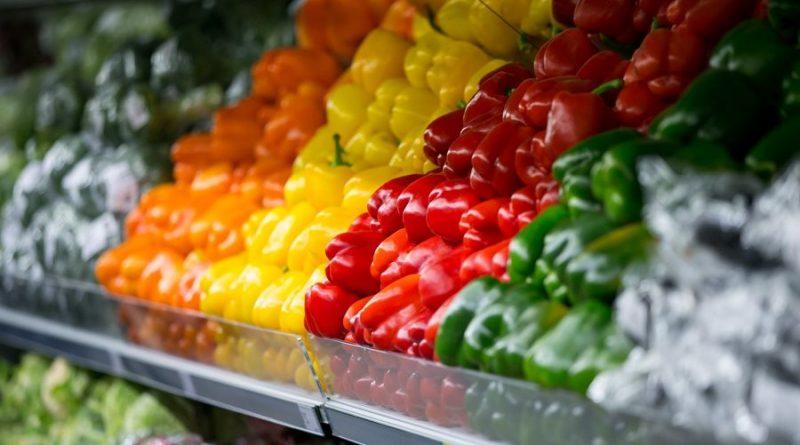 daržovės paprikos