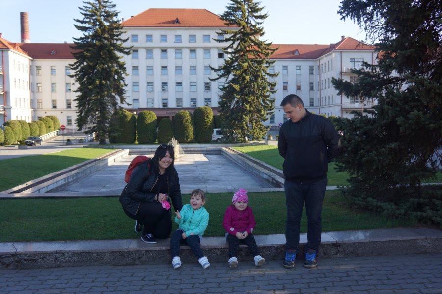 Dvynukės Gustė ir Smiltė Kaunuo klinikų nuotr