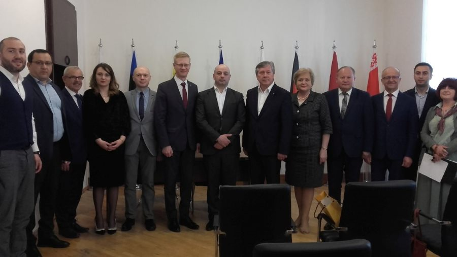 Kauno regiono savivaldybių merų tarptautinio bendradarbiavimo vizitas į Gruziją (1)