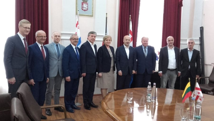 Kauno regiono savivaldybių merų tarptautinio bendradarbiavimo vizitas į Gruziją (2)